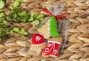 Biscoito de Mel Árvore- Kit com 10 unidades