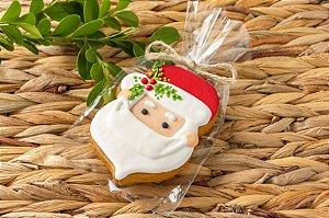 Biscoito de Mel Cara Noel