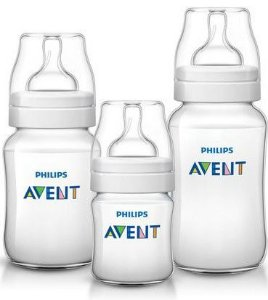 KIT MAMADEIRAS ANTI-COLIC AVENT 125ML 260ML 330ML