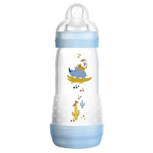 Mamadeira Mam Easy Start - 320Ml (4+ Meses) - Azul