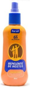REPELENTE SPRAY DEET FAMILY BARUEL 200ML