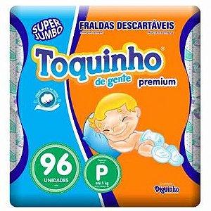 FRALDA TOQUINHO CONFOR SEC P C/96 UNIDADES