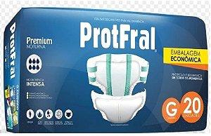 FRALDA ADULTO PROTFRAL PREMIUM TAM G C/ 20 UNIDADES