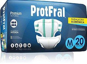 FRALDA ADULTO PROTFRAL PREMIUM TAM M C/20 UNIDADES