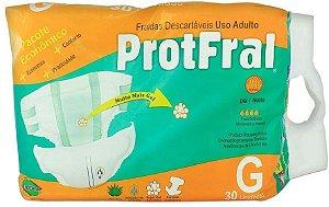 FRALDA ADULTO PROTFRAL G C/30 UNIDADES