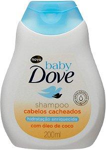 SHAMPOO DOVE BABY CABELOS CACHEADO 200ML