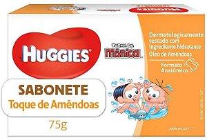 SABONETE BARRA HUGGIES TOQUE DE AMÊNDOAS 75G