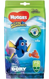 FRALDA HUGGIES LITTLE SWIMMERS P C/ 1 UNIDADE