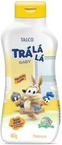 TALCO PERSONAGENS TRÁ LÁ LÁ BABY BEM ESTAR 160G