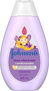CONDICIONADOR JOHNSON'S BABY FORÇA VITAMINADA 400ML