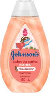 SHAMPOO JOHNSON'S BABY CACHOS DOS SONHOS 400ML