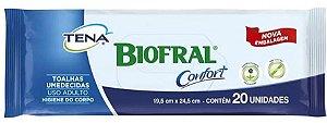 TOALHA BIOFRAL CONFORT ADULTO TENA C/20 UNIDADES