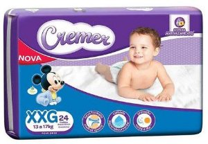 FRALDA CREMER DISNEY BABY MAGIC CARE XXG C/24 UNIDADES