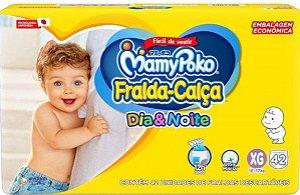 FRALDA CALÇA MAMYPOKO DIA&NOITE HIPER XG C/42 UNIDADES