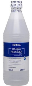 SORO FISIOLÓGICO SORIMAX Cloreto de Sódio 0,9% - 500ML