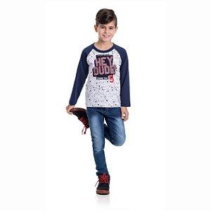 Kit 3 Camisetas Meia Malha Hey Dude 4/8
