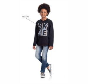 Kit 3 Camisetas Meia Malha SKATE 10/14