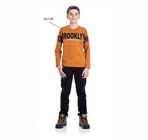Kit 3 Camisetas Meia Malha Brookly 10/14