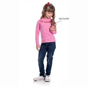 Kit 3 Blusas Cotton Gola Alta Love Yours 4/8