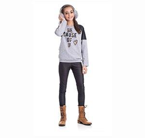 Kit 3 Leggings Cotton Jeans 10/14
