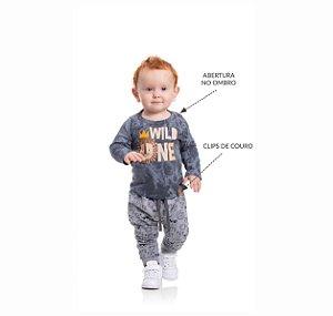 Kit 3 Camisetas Meia Malha Rotativa Abertura Ombro P/G