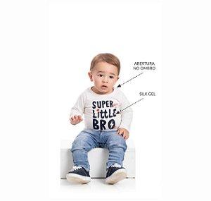 Kit 3 Camisetas Meia Malha Abertura Ombro P/G