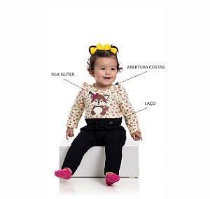 Kit 3 Conjuntos Raposa Baby P/G