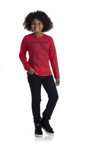 Kit 3 Camisetas Meia Malha Skateboard 10 a 14