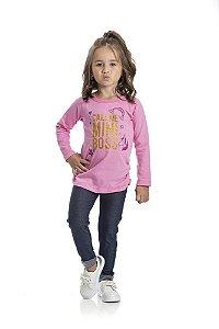 Kit 3 Leggings Cotton Jeans com Fita Marmorizada 1 a 3