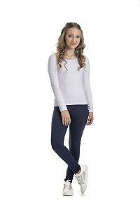 Blusa Cotton Básica 10 a 14