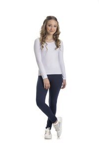Legging Cotton Básica 10 a 14