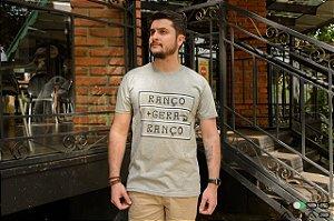 T-shirt Mescla Estampa Ranço Gera Ranço