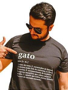 Camiseta Definição de Gato