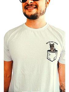 Camiseta Bolso Fake No Drama Lhama!