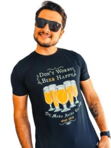 Camiseta Don't Worry Beer Happy