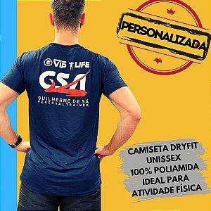 Camiseta Personalizada Dryfit em Poliamida ou Poliéster