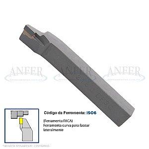 Ferramenta Soldada Curva Faca Tornear ISO 6 2020 DK01