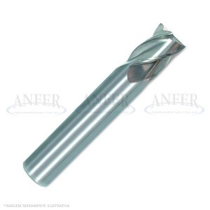 Fresa Topo Aço Rápido 4 Cortes HP-M  8.00mm