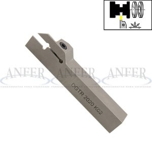 Suporte de Torno Para Canal Externo DGTR 20B 2D - 2mm