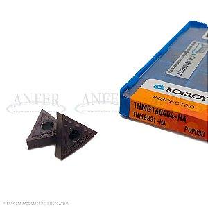 TNMG 160404-HA PC9030 para Inox