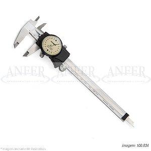 Paquímetro com Relógio 150mm 0,02mm Digimess