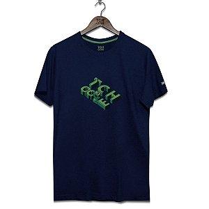 Camiseta Letras 3D Tchoose Azul