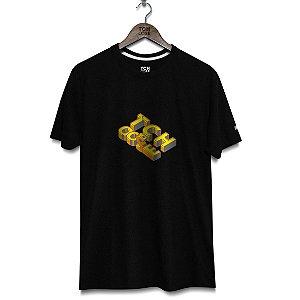 Camiseta Letras 3D Tchoose Preta
