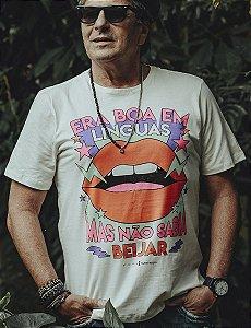 Camiseta Era Boa Em Línguas