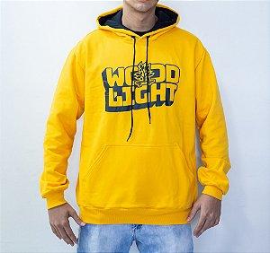 Moletom Wood Light Wavy Logo Yellow