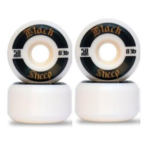 Roda Black Sheep Black 58mm 83B