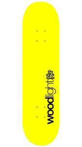 Shape de Skate Basic Yellow