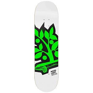 Shape de Skate Maple -Logotipia Green