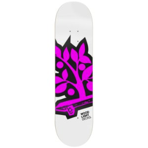 Shape de Skate Maple -Logotipia Pink