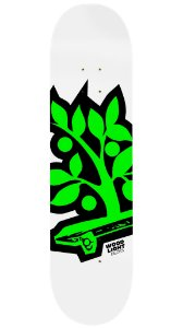 Shape de Skate Logotipia Green